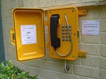 VoIP-Telefon / IP67 / zur Anwendung im Eisenbahnbereich / für Schifffahrtsanwendungen