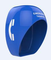 Akustikkabine / Telefon / für laute Umgebungen / für Gefahrenzonen