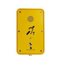 Vandalismussicheres telefon / wetterbeständig / analog / zur Anwendung im Eisenbahnbereich