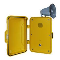 Wetterbeständiges telefon / analog / VoIP / GSM