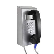 VoIP-Telefon / IP67 / zur Anwendung im Eisenbahnbereich / Edelstahl