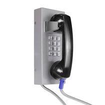 Analoges Telefon / IP54 / zur Anwendung im Eisenbahnbereich / Edelstahl