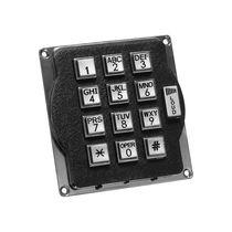 Nummernblock / 12 Tasten / wandmontiert / Metall / aus Silikon