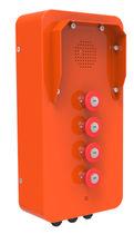 Analoges Telefon / VoIP / IP65 / zur Anwendung im Eisenbahnbereich