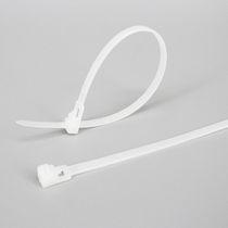 Nylon-Kabelbinder / wiederverwendbar / mit Innenverzahnung / flammenbeständig