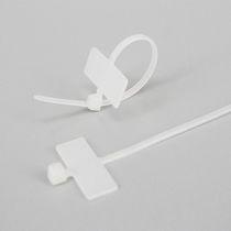 Nylon-Kabelbinder / mit Etikettenhalter / mit Innenverzahnung / flammenbeständig