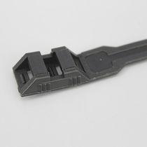 Kunststoffkabelbinder / flammenbeständig / mit Innenverzahnung / für Schwerlasten