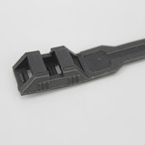 Nylon-Kabelbinder / flammenbeständig / mit Innenverzahnung / korrosionsbeständig