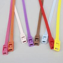 Nylon-Kabelbinder / Außenverzahnungen / selbstblockierend / korrosionsbeständig