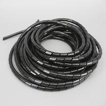 Spiralhülle / für Kabel / Sicherheit / Polyethylen