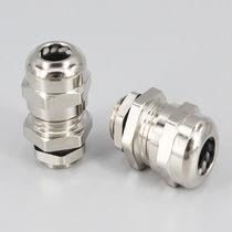 Metall-Kabelverschraubung / IP68 / Gewinde / gerade