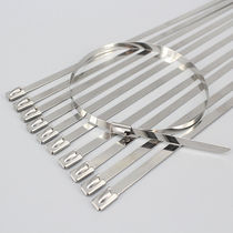 Edelstahl-Kabelbinder / flammenbeständig / korrosionsbeständig / chemikalienbeständig