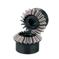 Kegel Getriebe / gerade verzahnt / mit Helikoidalverzahnung / Naben