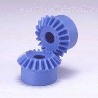 Kegel Getriebe / mit Helikoidalverzahnung / Kunststoff / Naben