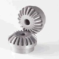 Kegel Getriebe / mit Helikoidalverzahnung / Naben