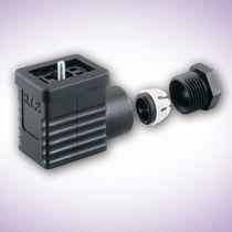 Steckverbinder für Magnetventil / Stromversorgung / DIN / rechteckig