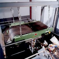 Permanentmagnetabscheider / Metall / zur Abwasserbehandlung / hängend
