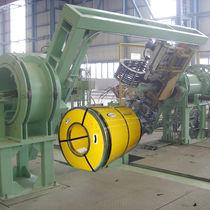 Automatische Umreifungsmaschine / für Spulen / für Produktionsanlage / für Brett