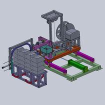 Automatische Umreifungsmaschine / für Ballen / für Spulen / für Metallblätter