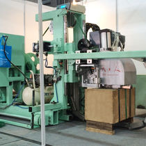 Automatische Umreifungsmaschine / für Papier / für Spulen / für Brett