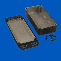 Kompaktes Gehäuse / rechteckig / aus Aluminium / Kunststoff