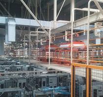 Hängeförderer / horizontal / Transport / für Prozessanwendungen