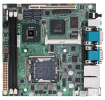 Mini-ITX-Mainboard / Intel® Core 2 Quad / Intel Q45 / DDR2 SDRAM