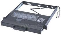 Tastatur auf Einschub / einbaufähig / 106 Tasten / Touchpad