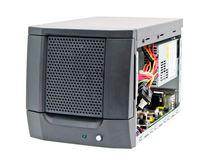 Kompakter Chassis / wandmontiert / für Mini-motherboard ITX / mobiles HDD-Rack Verriegelung