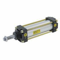 Pneumatischer Zylinder / doppeltwirkend / mit Gewindestab / mit Magnetkolben
