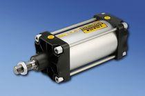 Pneumatischer Zylinder / doppeltwirkend / mit Magnetkolben / ISO