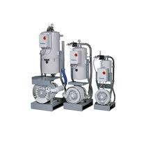 Geschmiertes Vakuumaggregat / für Pneumatiktransport / kompakt