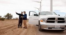 Offshore-Windkraftanlage / für starke Winde