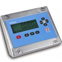 Digitaler Wägeindikator / einbaufähig / IP67 / Edelstahl
