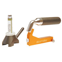 Lackdickenmesser / mechanisch / Keilschnitt / für zerstörende Kontrolle