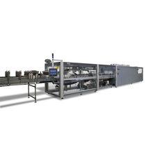 Automatische Schrumpffolienverpackungsmaschine / für Flaschen / Getränke / für Schrumpffolienverpackung