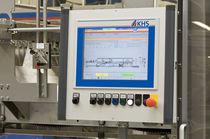 Traypacker Schrumpffolien-Verpackungsmaschine / Schrumpftunnel / automatisch / Getränke / für Flaschen