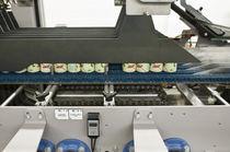 Traypacker Schrumpffolien-Verpackungsmaschine / Schrumpftunnel / automatisch / für Dosen / Getränke