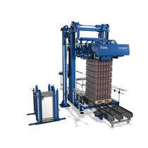 Schicht-Entpalettierer / für Glasbehälter / vollautomatisch / motorisiert