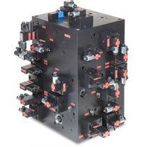 Mehrweg-Verteilerblock / Metall / hydraulisch