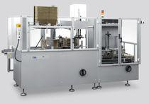 Horizontaler Kartonpacker / automatisch / für Papier / Hotmelt-Klebstoff