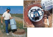 Probennehmer für Abwasser / Verbundwerkstoff / kompakt