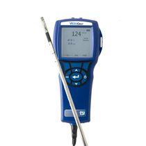 Heißdraht-Anemometer / mit mehreren Sonden / Hygrometer / tragbar