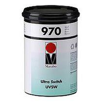 Tinte für Siebdruck / für Kunststoffe / mit UV-Trocknung