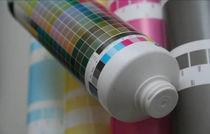 Tinte für Siebdruck / für Kunststoffe / für Etiketten / mit UV-Trocknung