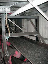 Metalldetektor für Förderanlagen