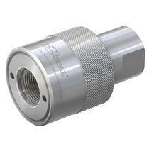 Schnell-Anschluss / gerade / hydraulisch / NBR