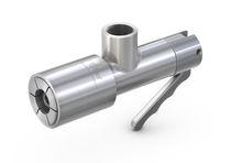 Push-to-Lock-Anschluss / gerade / pneumatisch / Edelstahl