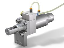 Schnell-Anschluss / gerade / pneumatisch / pneumatische Betätigung