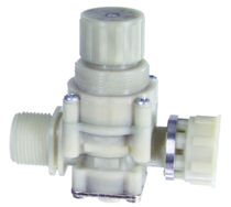 Regler und Druckminderventil / für Wasser / Membran / kompakt